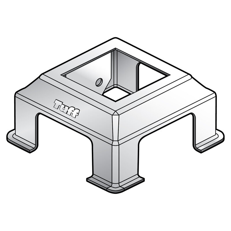 COLONIAL SLIDER SURROUND BASE ONLY 115MM