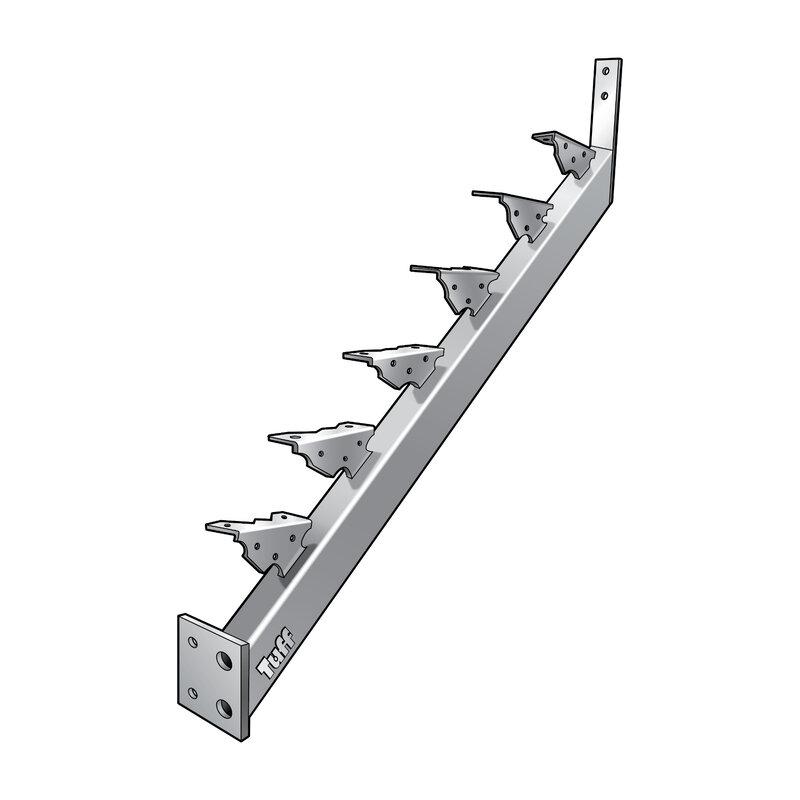 STAIR STRINGER LANDING-TO-LANDING - 14 STEP