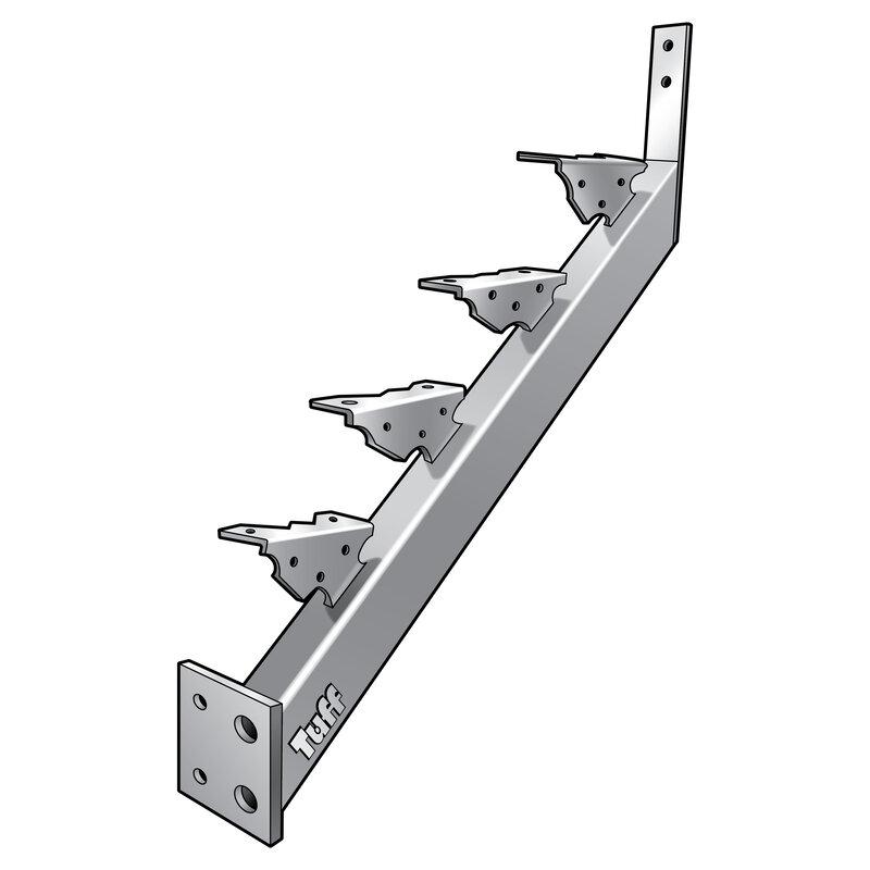 STAIR STRINGER LANDING-TO-LANDING - 4 STEP