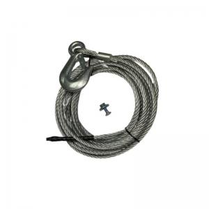 SPARE KIT - CABLE 15M, 6MM SNAP HOOK