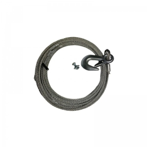 SPARE KIT - CABLE 12M, 5MM SNAP HOOK