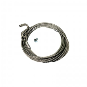 SPARE KIT - CABLE 6M, 4MM S-HOOK