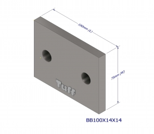 BOND BEAM TRUSS BRACKET 100X14X14