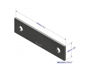 BOND BEAM TRUSS BRACKET 200X17X17MM