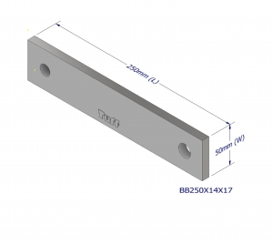 BOND BEAM TRUSS BRACKET 250X14X17MM