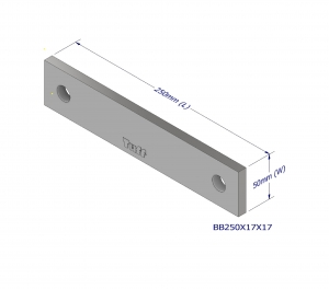 BOND BEAM TRUSS BRACKET 250X17X17MM