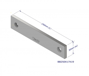 BOND BEAM TRUSS BRACKET 250X17X19MM