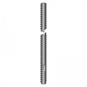 M10 X 1000MM ZINC COATED THREADED ROD