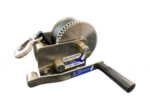 BOAT TRAILER WINCH STAINLESS STEEL 316 - 5:1 / 1:1 RATIO 2 SPEED CAPACITY 500KG