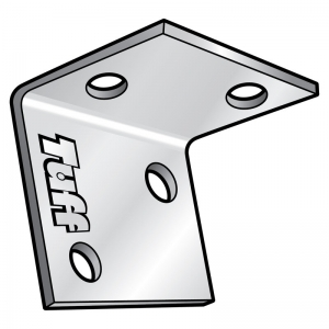 LIGHT-USE ANGLE BRACKET 100X100X40X3MM GALV