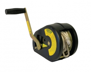 WINCH 3:1 ROPE 6M WITH 'S' HOOK AND COVER