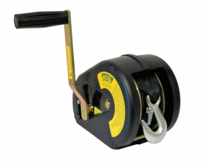 WINCH 5:1 WEBB WITH SNAP HOOK AND COVER