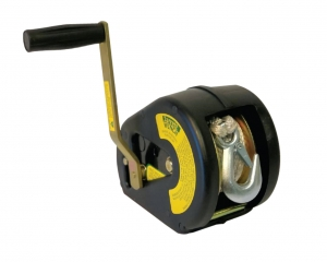 WINCH 5:1 ROPE 6M WITH SNAP HOOK AND COVER