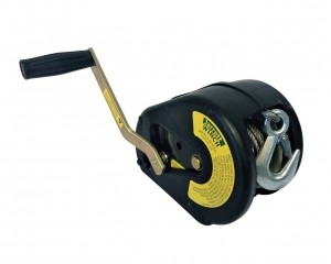 WINCH 5:1 5MM CABLE SNAP HOOK WITH COVER