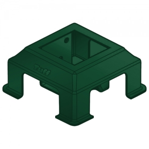 COLONIAL BOLT-DOWN POST SUPPORT 90MM GREEN