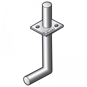 CENTRE FIX STAKE POST SUPPORT 130MM SHAFT