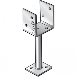 U' CUP POST SUPPORT 100X250MM