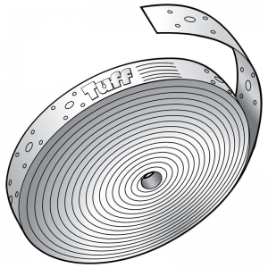 PUNCHED 0.8MM HOOP IRON 30MMX.8X20M