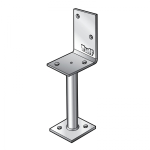 ANGLE TYPE POST SUPPORT 600MM SHAFT