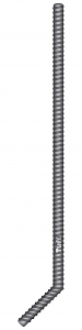 M16 ADVANS-ZINC COATED TIE DOWN ROD