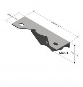 STAIR RISER BRACKET - Z80