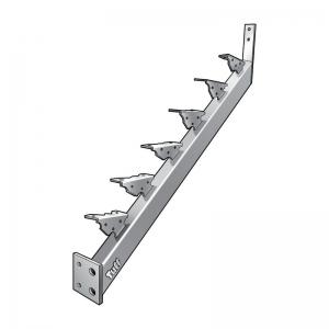 STAIR STRINGER LANDING-TO-LANDING - 12 STEP
