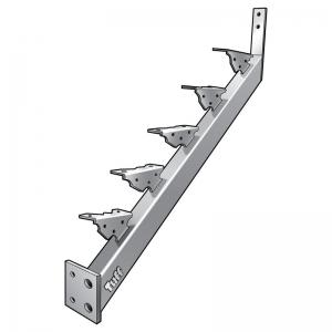 STAIR STRINGER LANDING-TO-LANDING - 5 STEP